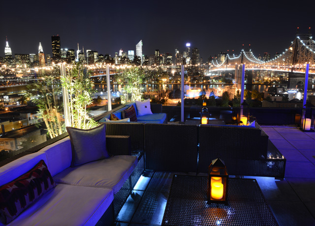 Z Hotel in Queens, NY roof top