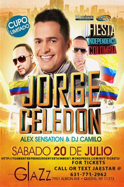 Colombian Independence Party at Club Glazz