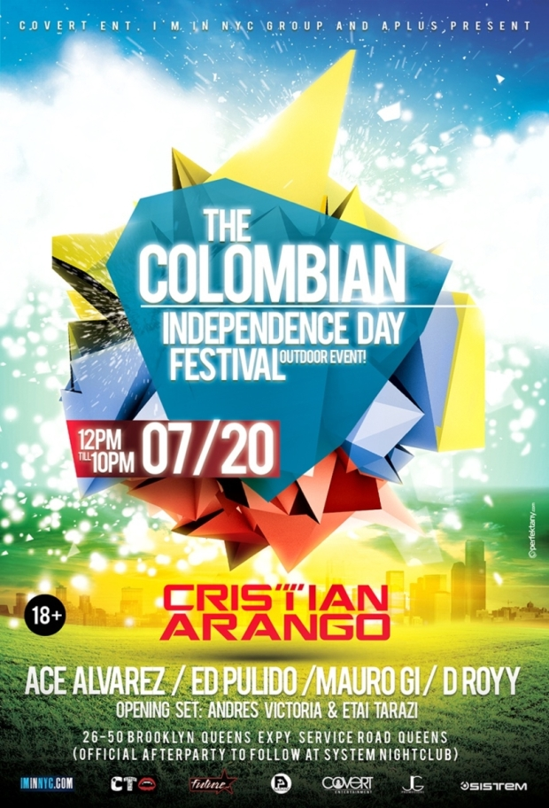 EDM THE COLOMBIAN INDEPENDENCE DAY FESTIVAL - OUTDOOR EVENT