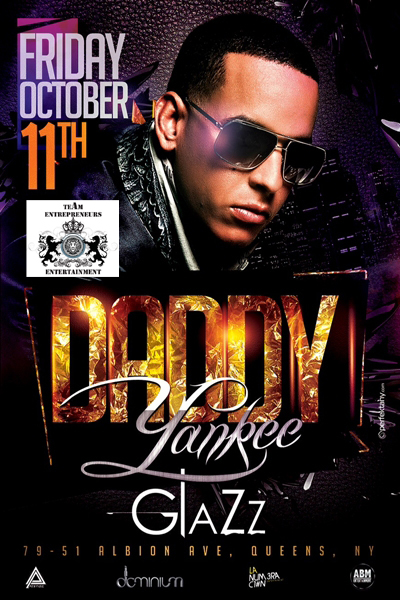 DADDY YANKEE LIVE AT CLUB GLAZZ