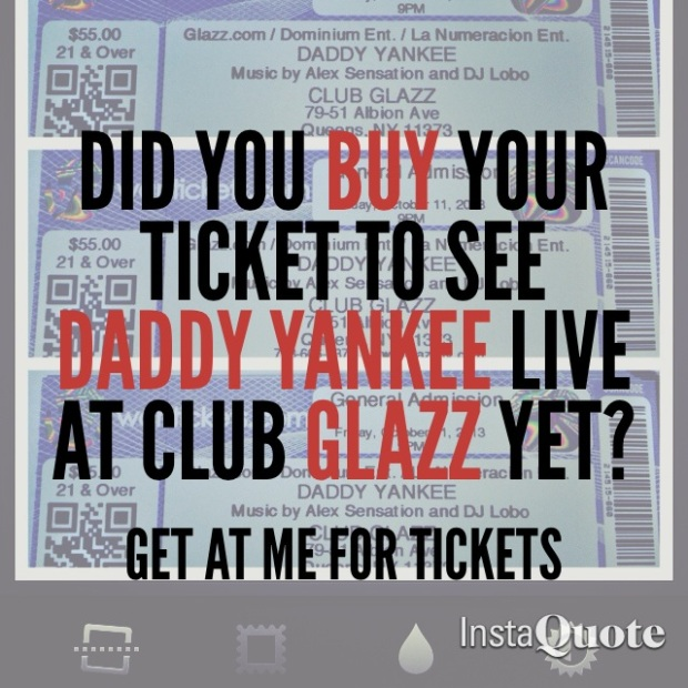 GET YOUR TICKETS NOW !!
