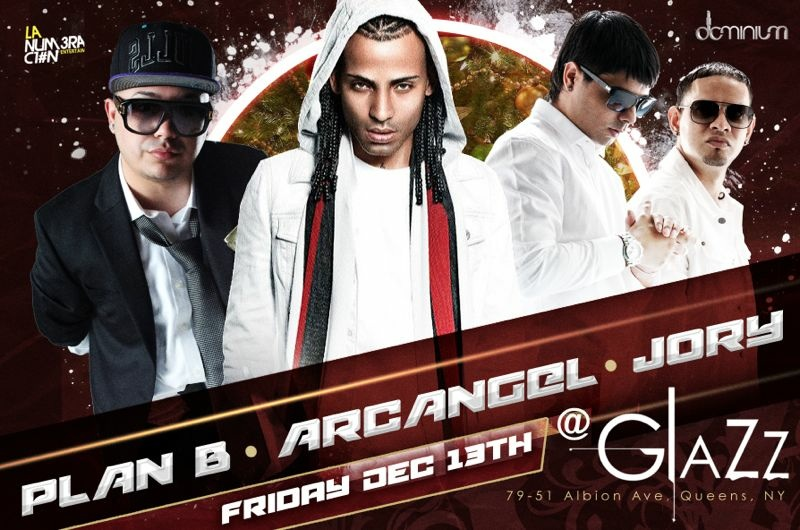 PLAN B , ARCANGEL AND JORY LIVE AT THE 5 MILLION DOLLAR CLUB GLAZZ !!!