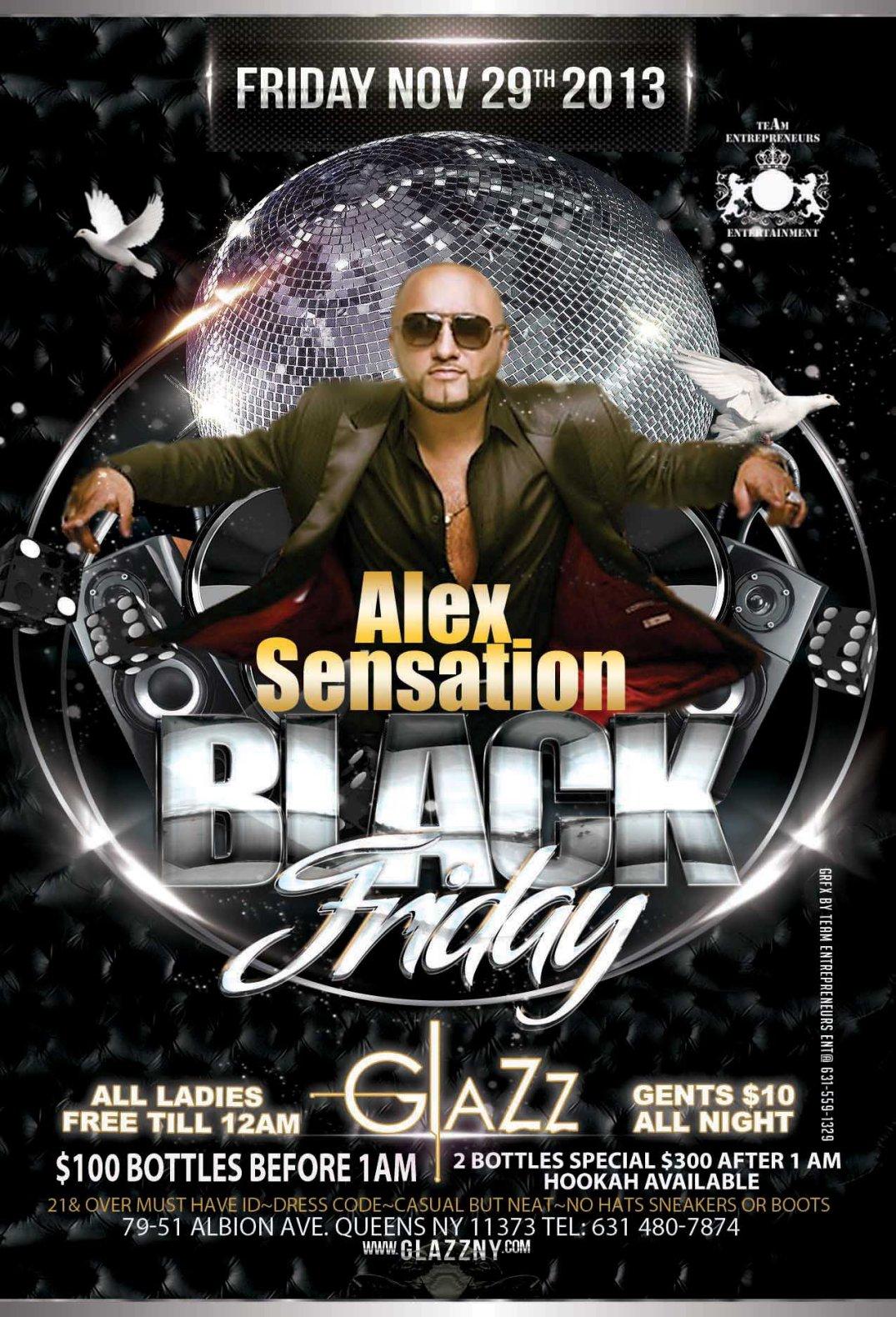 BLACK FRIDAY TONIGHT AT CLUB GLAZZ