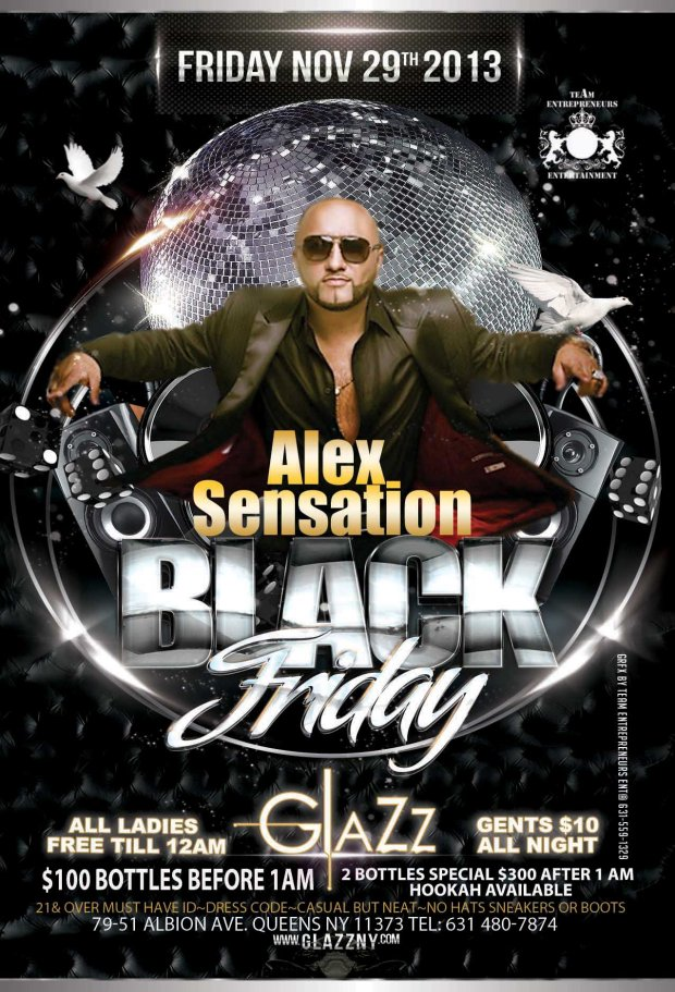 BLACK FRIDAY TONIGHT AT CLUB GLAZZ