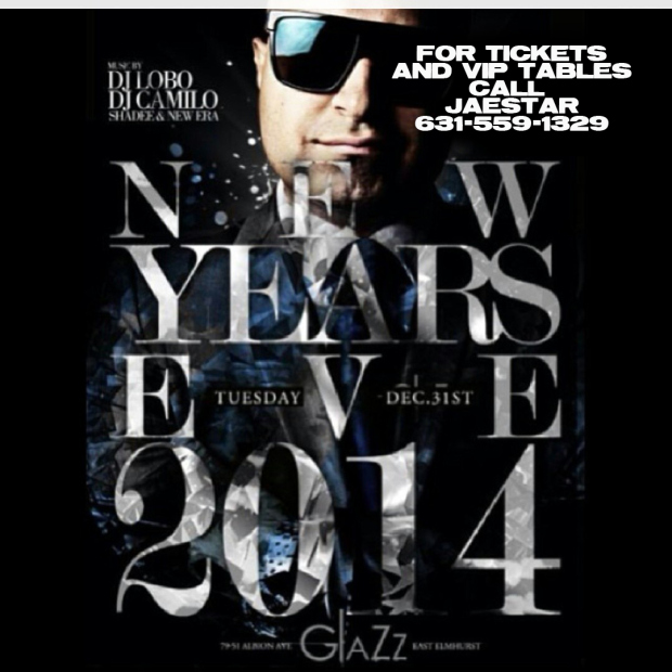 TONIGHT NYE GLAZZ PARTY