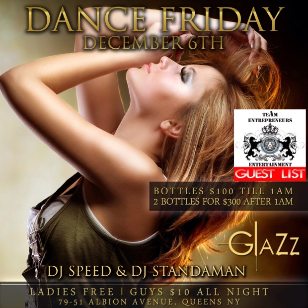 DANCE FRIDAYS AT CLUB GLAZZ !!!